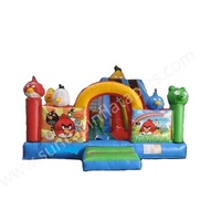 strange hole inflatable jumping playground with good quality