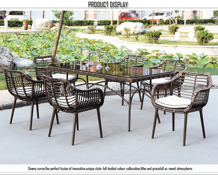 outdoor indoor rattan garden furniture with modern cheap sofa set