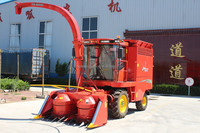Farm machinery corn forage harvester machine