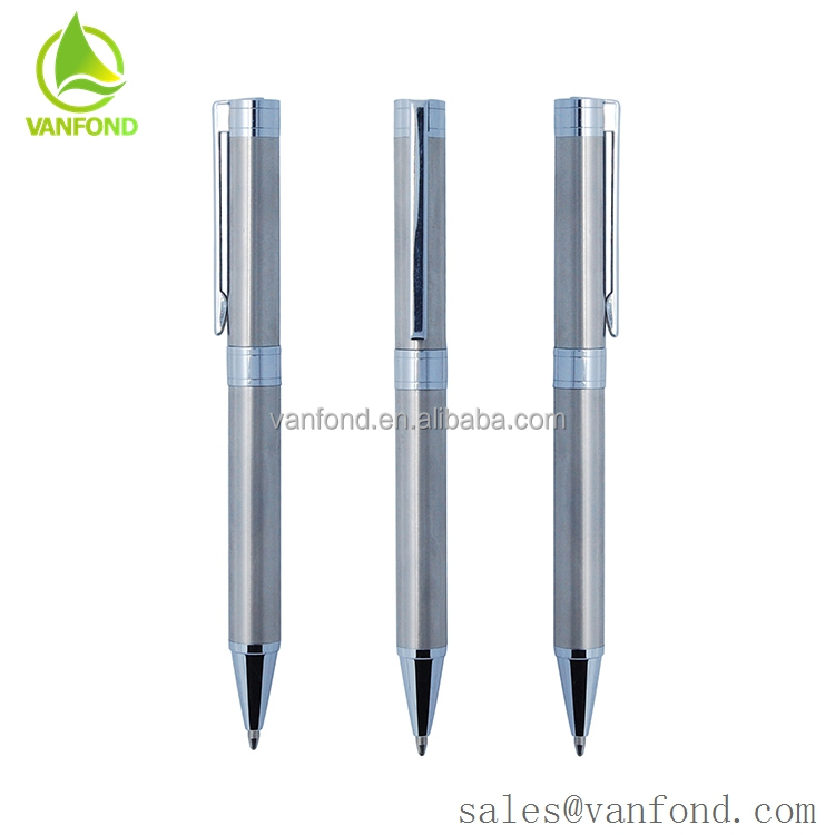 Stainless Steel Barrel Luxury Nice Ball Pen for Promotion Gift