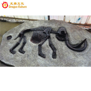 artificial museum mammoth prehistoric animal skeleton model for sale