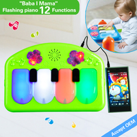 HX910502 with 64M memory wholesale colorful roll up piano ,baby toy piano,kids piano