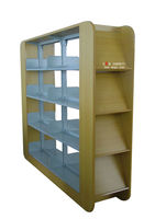 Good Quality Book Shelf, Bookshelf, Magazine Rack for School Furniture of Guangzhou Magazine Shelf