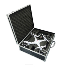 Aluminum black color Hard Shockproof Carrying Waterproof Dji Phantom 3 Drone Case