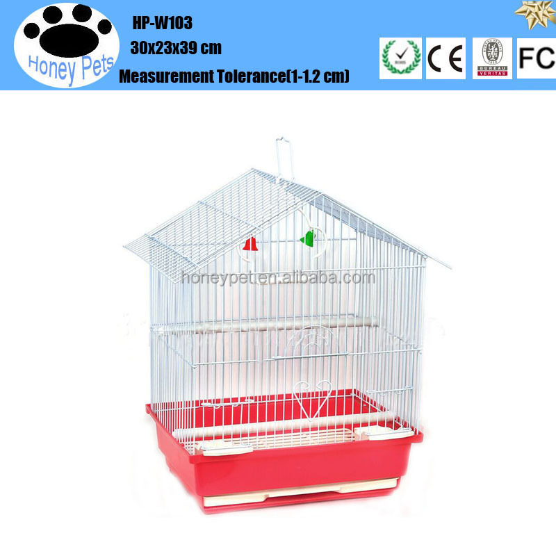 Honeypet high quality make wooden bird cage