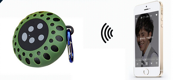 In Stock Available Colourful Fashion mini waterproof bluetooth suction cup speaker