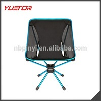 Aluminum Camping Hiking Picnic Backpacking short folding make up chair TUETOR Brand
