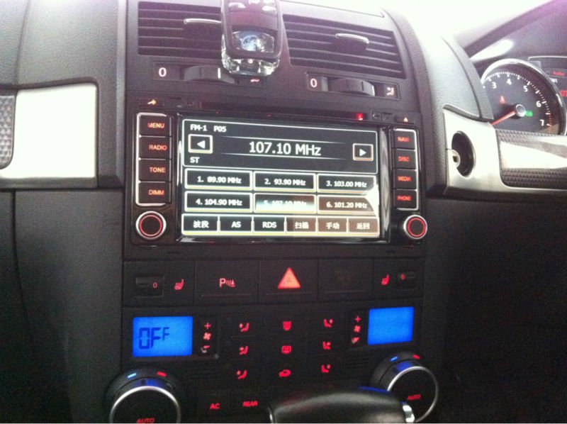 Whole sale cheap vw Volkswagen Touareg auto DVD, radio, audio, vedio, GPS multimedia player, ANS710