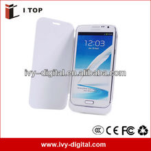 3600mAh For Samsung GALAXY Note II 2 N7100 External Backup Battery Case Charger Case