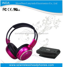 RF wireless headphone for TV, DVD, CD, MP3, Hi-Fi, Home Theatre