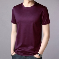 OEM cotton t shirt wholesale plain round neck t-shirt personalized t shirt custom logo