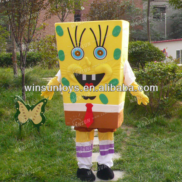 2012 top sale spongebob mascot costumes