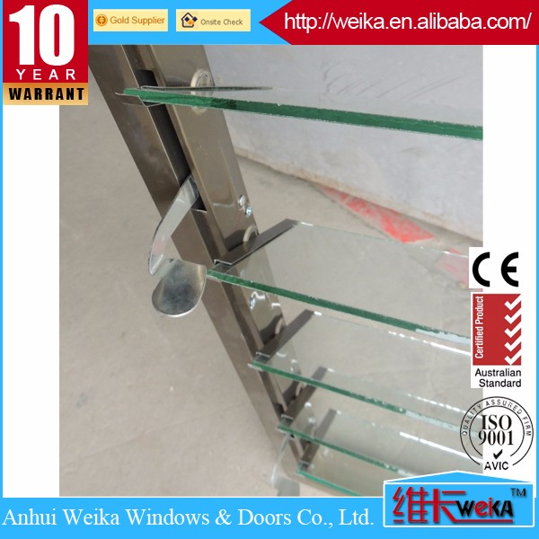 glass window shutter french louvers aluminum window for sale