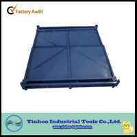 2014 new style high quality heavy duty foldable steel pallet box/collapsible container