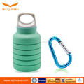 outdoor sport folding silicone water bottle portable silicone water bottle collapsible silicone kettle