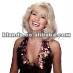 Blanda Short White Remy Hair Wigs