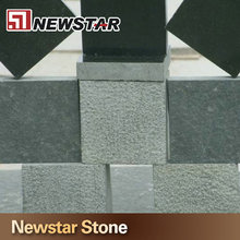 Newstar stone Flamed rough stone flooring,negro black granite