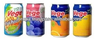 VEGE BRAND CANNED FRUIT DRINK/ MALAYSIA ORIGIN/300ML