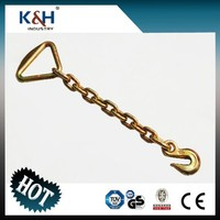 Professional chain anchor with delta ring & eye grab hook