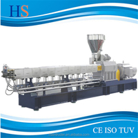 High quality and Standard Co-rotating plastic granules Twin Screw extruder machine