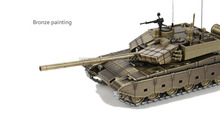 High quality1 50 99A metal military tank model