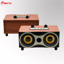 High Quality Tablet music speaker hot selling Outdoor Mini Protable wireless wood speaker