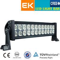 EK Lifetime Warranty 10-32V Curve Led Light Bar,Offroad LED Work Light With Spot/flood/combo beam led bar lights for cars
