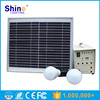 10W High Quality mini portable solar power generator system with mobile charger