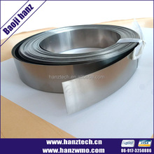 high purity 99.999% titanium strip manufacturer