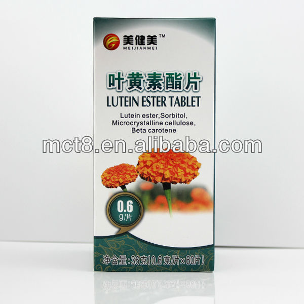Beauty bodybuilding lutein esters