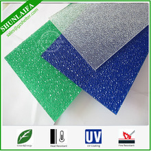 Colored Lexan Cutting Polycarbonate roofing Embossed sheet Plastic Board Sheet