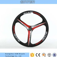 650C mountain bicycle wheel magnesium alloy wheel 3 spokes