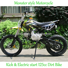 Gas Powered 110cc Dirt Bike Pit Bike 125cc Motor Bike with Disc Brake