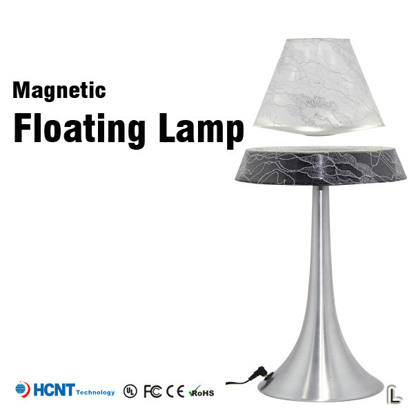 Newest Magnet Levitating battery powered desk lamp, study desk lamp