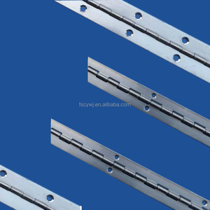 long stainless steel piano hinge / heavy duty continuous hinge / piano hinge