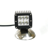 "3.3"" 18W Offroad work Light 18w Led Square Light 12volts dc fog machine"