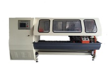 KW-701 Single Shaft Plastic films Cutting Machine With Sound Insulation Cover