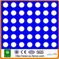 galvanized perforated metal screen sheet