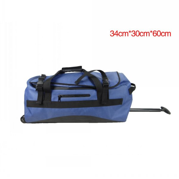 new travel bag with Blue Sealock waterproof outdoor sports Duffel bag & Trolley bag