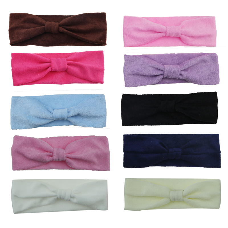 Wholesale new baby soft fabric prints headband for top baby headband accessories