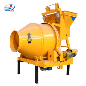electric portable JZC300 small mortar auto concrete mixer factory for sale