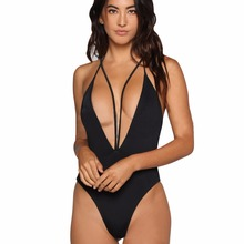 Custom Backless Women Monokini Bikini Beach Sex Swimming Suit