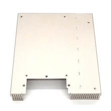 Electroless Nickel Plated Signal Cable Terminal Box Enclosure Precision Sheet Metal Part Fabrication