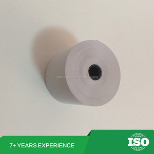 "80 x 80mm printed cash register receipt thermal paper roll 3 1/8"" x 230'"
