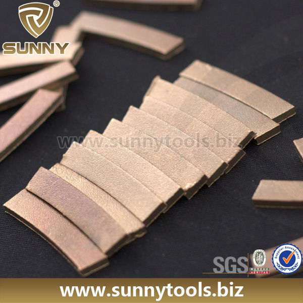 Fast Cutting Diamond Saw Blade for Large and Small Natural Stone Cutting Diamond Segment