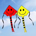 delta smiling face kite for children and adult from the kite factory