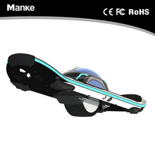 Manke single wheel 6.5 inch electric skateboard with Led light