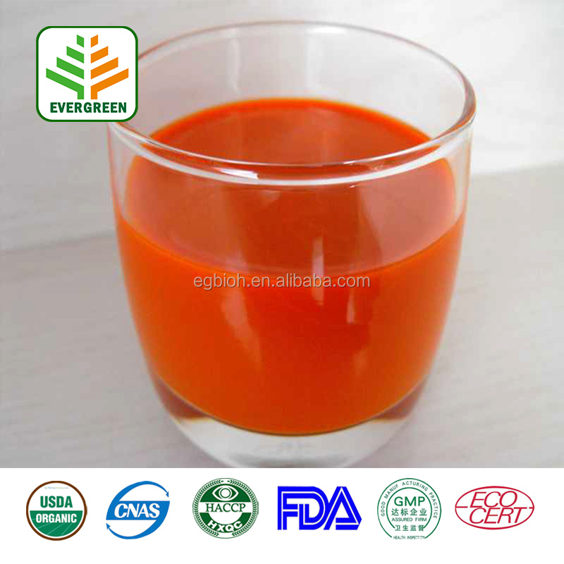 EVERGREEN 100% natural organic goji berry juice
