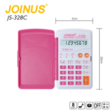 Wholesale Promotional Colorful Home Custom 8 Digits Electronic Mini Student Calculator