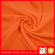 Factory wholesale chiffon fabric woven plain 100%polyester chiffon sarees wholesale